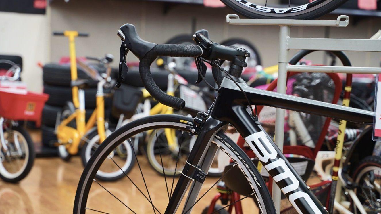 自転車のリユースもガレージオフ!